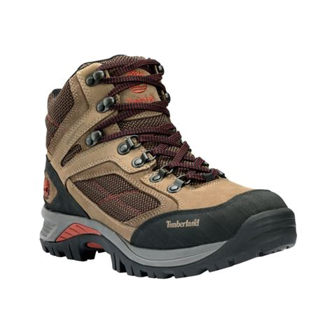timberland hiking boots timberland belknap waterproof hiking boots in brown for
