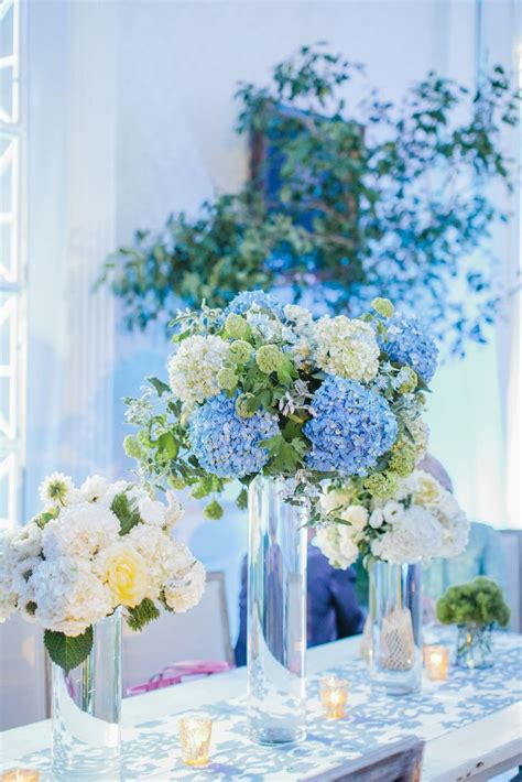 25 best ideas about white hydrangea centerpieces on