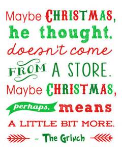 free christmas printables grinch quote 15 more