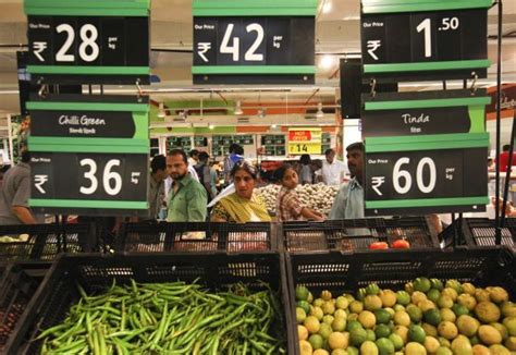 d mart vegetables why d mart is profitable when retail giants are not