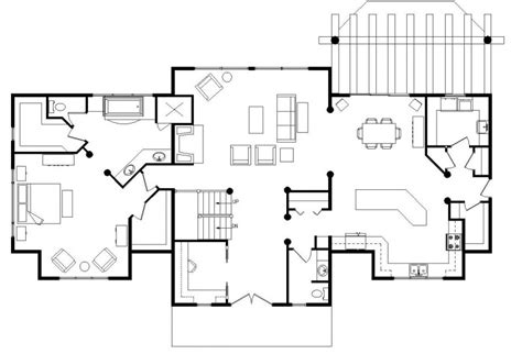 log cabin open floor plans floor plan for derksen building studio design
