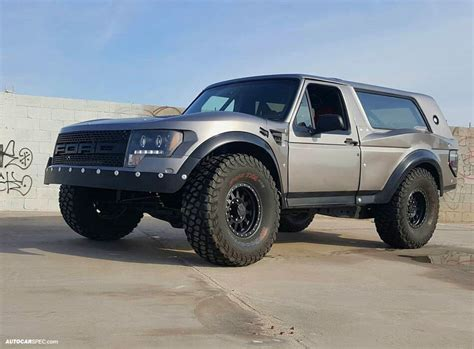 How To Build A Ford Bronco Prerunner In F150 Raptor Style