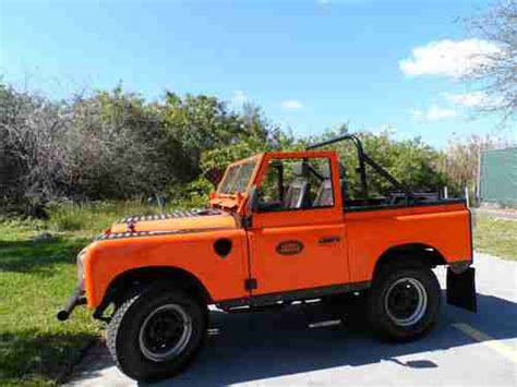 land rover defender 1970 sell used 1970 land rover series defender 4x4 collector