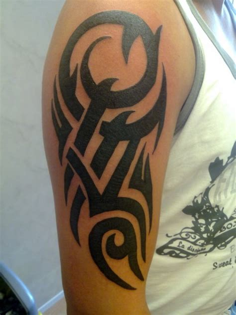 tribal bicep tattoos for guys arm tattoos for tribal armband skull and more