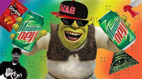Mlg Meme - shrek and mlg stuff by bunbunboo on deviantart