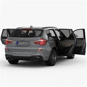 bmw x3 f25 m sport package 2015 3d model cgstudio