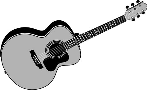 acoustic guitar clipart clipartxtras