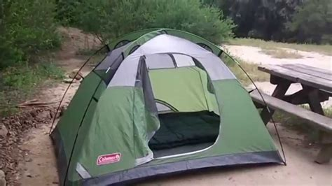 Coleman Sundome 6 Person Tent Redwhite demo and review of coleman sundome 2 2