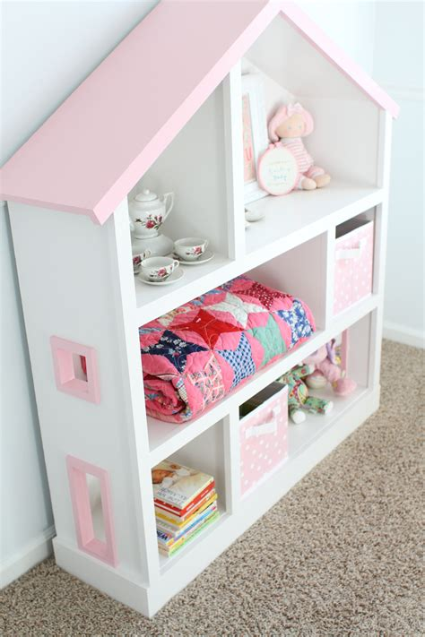 pink and white dollhouse bookcase diy dollhouse bookcase i can teach my child