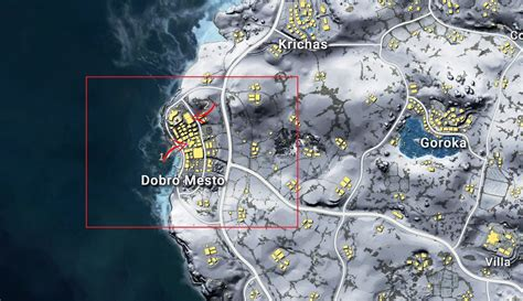 pubg loot map best landing and loot locations drop locations in vikendi