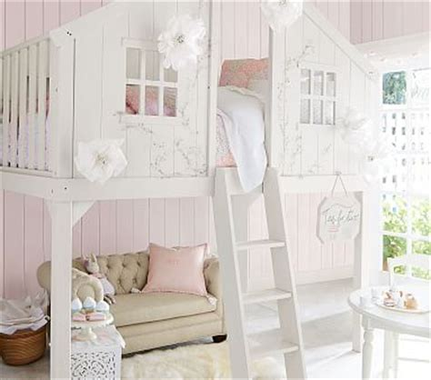 tree house loft bed treehouse loft bed pottery barn kids