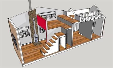 tiny house plans under 300 sq ft 300 sq ft 10 x 30 tiny house design