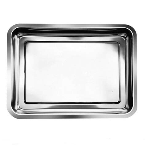 Small Cressendo Plate 1 Pcs supplies 1pcs ᗑ stainless stainless steel surgical rectangle tray disinfection ᐂ