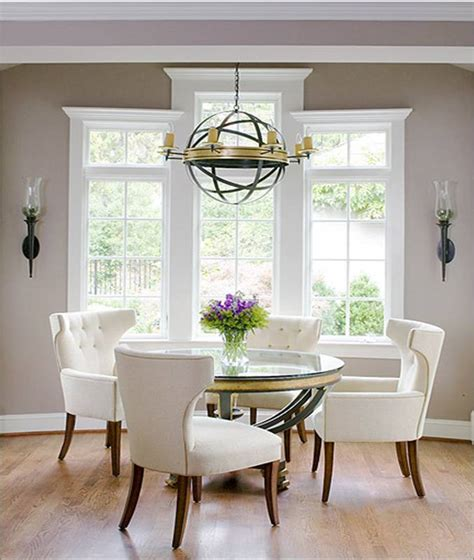 glass round dining room table brighton beach furniture and glass dining room table