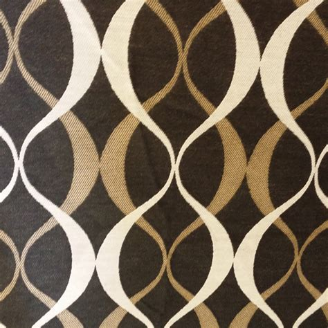 designer fabrics duo noir black geometric design indoor outdoor upholstery