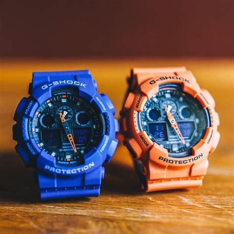 Casio G Shock Ga 100l 1a Original g shock ga 100l 2a and ga 100l 4a bicolor series