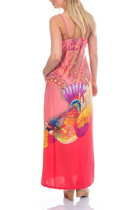 Longdress Vb Premium 5 martildo womens bright tropical summer maxi dress plus size ebay