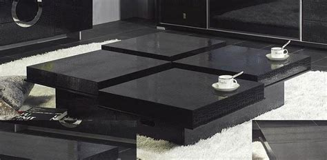 Modern Black Coffee Table Modern Coffee Tables