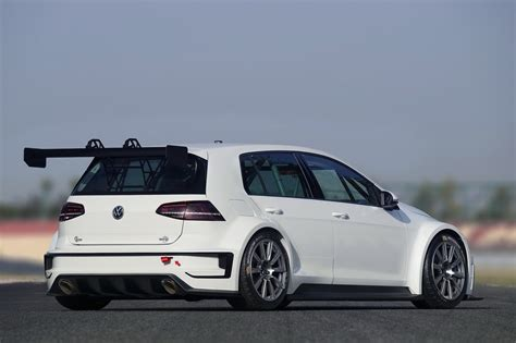 volkswagen race car new vw golf tcr for the track makes r400 concept look