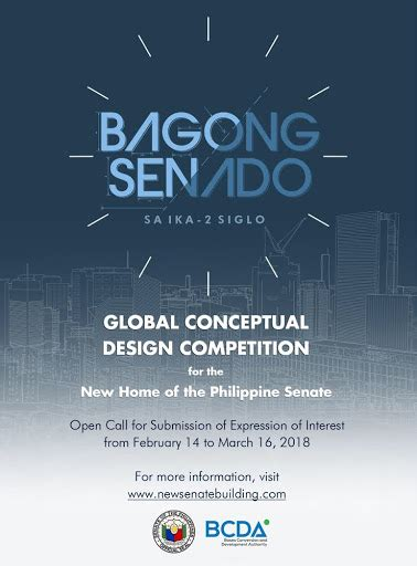 design competition in the philippines global conceptual design competition for the new building