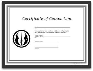 free printable star wars jedi certificates free printables star wars jedi certificate party