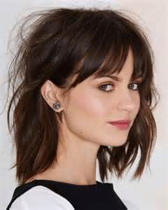 hairstyles with fringe bangs how to style fringe bangs intended for provide glamour