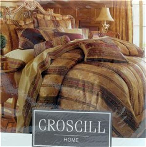 Croscill Townhouse Comforter by Croscill Townhouse Oversized Overfilled King Comforter Bed Set 14 Pieces Ebay