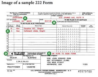 dea 222 form colors part i compounding and ordering cii drugs new