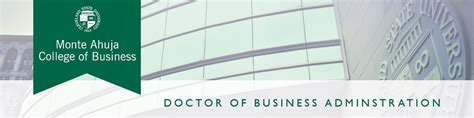 Https Www Csuohio Edu Business Academics Or Part Time Mba by Doctoral Dba Programs Cleveland State