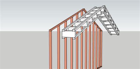 Gable End Wall Framing Best Way To Build Rake Walls Framing Architect Age
