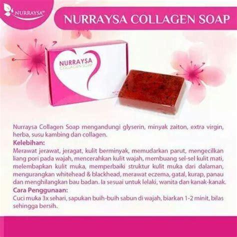 Sabun Kolagen sabun kolagen nurraysa murah