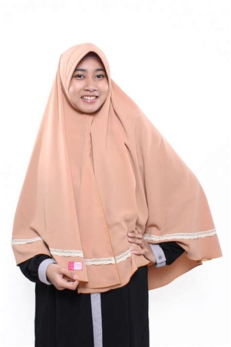 Kerudung Salsa Coklat by Khimar Huzaimah Coklat Anizah Khimar Khimar Kerudung