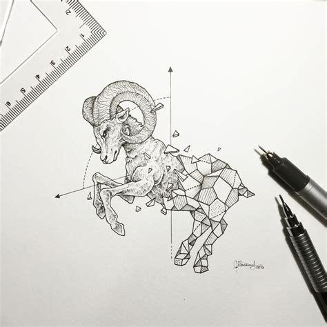 geometric tattoo manila geometric beasts beast manila and illustrators