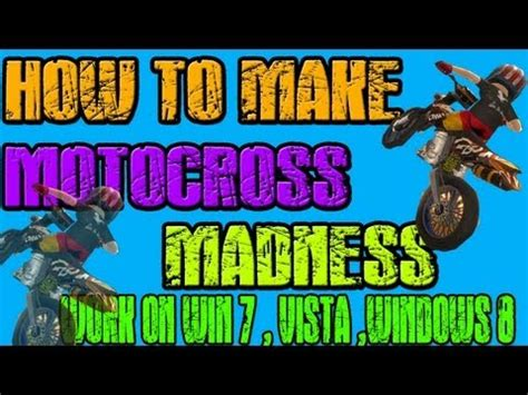motocross madness 2 windows 7 how to get motocross madness 1 and 2 free how to save