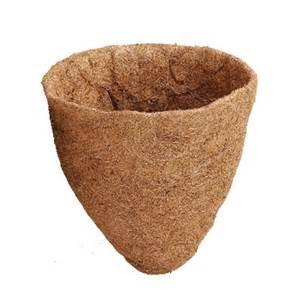 arcadia coco liner for cone shape planters 14 inch ebay