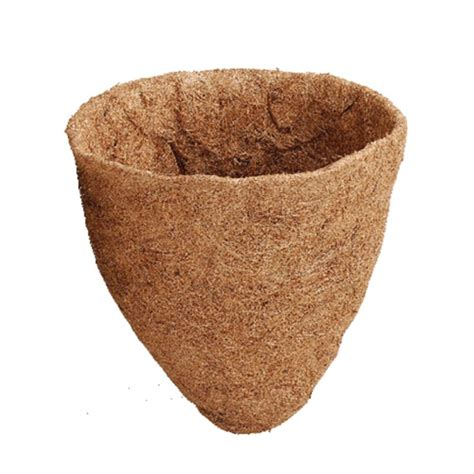Coco Planter Liners by Arcadia Coco Liner For Cone Shape Planters 14 Inch Ebay