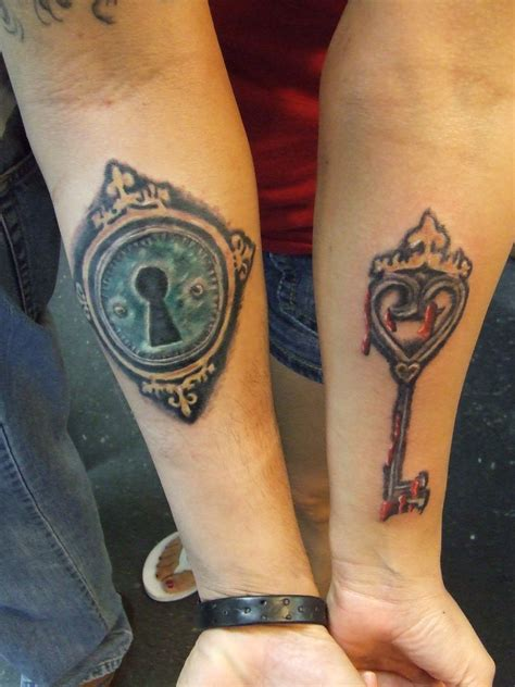 tattoos of lock and key for couples key tattoos designs ideas and meaning tattoos for you