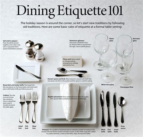 dining etiquette 101 thepatriot