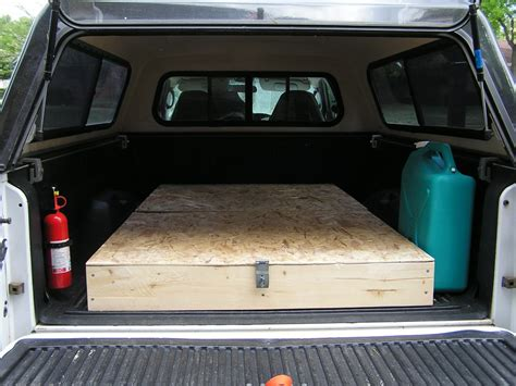 diy truck bed cer homemade cing truck bed storage and sleeping platform
