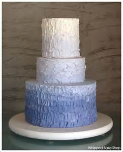affection for detail new trend ombre ruffle cakes