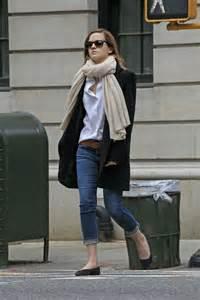 emma watson casual style emma watson out in new york city gotceleb