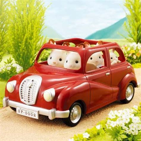 Sylvanian Families Auto by Sylvanian Families Jp V 01 Family Car Calico Critters