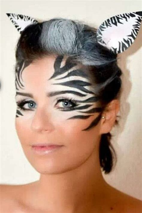 Syari Karnova best 25 zebra makeup ideas on zebra