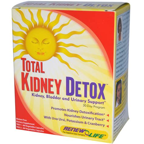 Kidney Detox Supplements by Renew Total Kidney Cleanse 30 Day Program Iherb