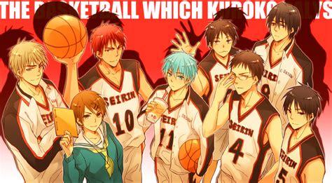 Kaos Anime Kuroko No Basket kuroko no basket free anime wallpaper site