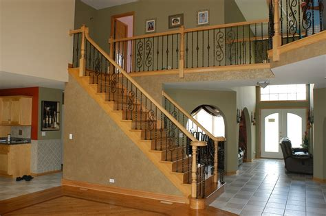 Stair Banisters And Railings Ideas by Chic Stair Railing Designs Decorating Ideas