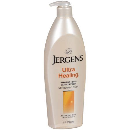 Jergens All New Ultra Healing Made In Usa 620ml jergens ultra healing moisturizer for skin 21 oz walmart