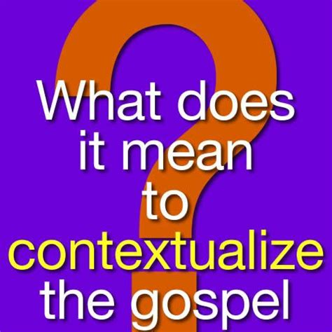 what does the word awning mean what does it mean to contextualize the gospel culture