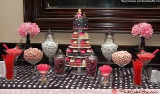 Cupcake Buffet Table Bridal Shower Cupcake Tower And Table 187 Pink Cake Box