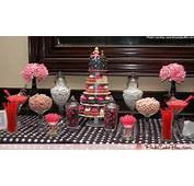 Click To Enlarge Bridal Shower Cupcake Tower And Candy Table